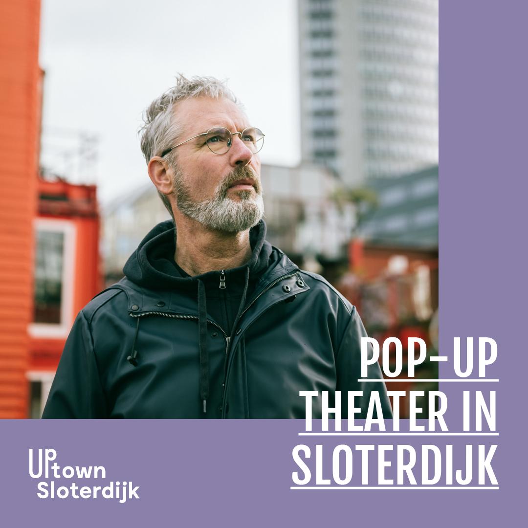 pop-up theater in Sloterdijk Amsterdam city Eric Corton